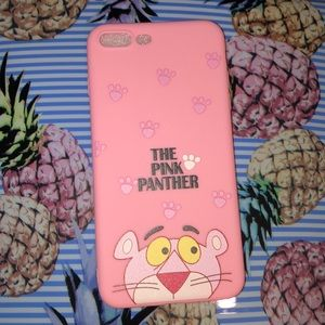 Accessories - IPhone 8 Plus Pink Panther Phone Case